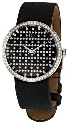 Christian Dior Women's CD042111A005 Baby D Satin Bracelet Watch: Watches: Amazon.com