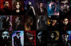 Vampire:  The Masquerade - Collection 1 by Z-GrimV.deviantart.com on @DeviantArt