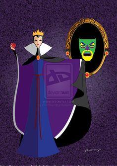 Evil Queen by AmadeuxWay on deviantART