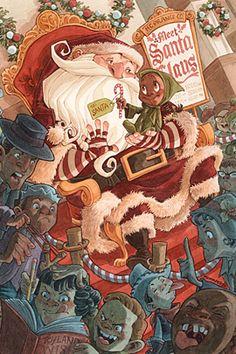 'Nother good Santa. Robb Mommaerts
