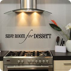 From $18.95, Save Room For Dessert (Bold)