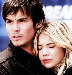 The couples last appearance in the mid-season finale #prettylittleliars #haleb