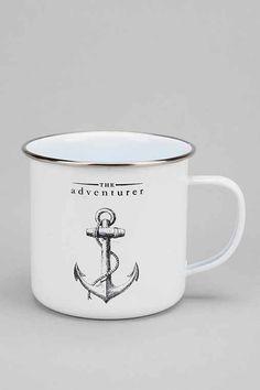 The Adventurer Enamel Mug - Urban Outfitters