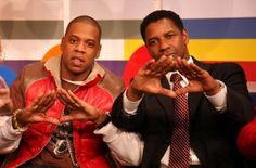 Jay & Denzel freemason illuminati pyramid