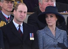 William and Kate joined the Queen to unveil a memorial to Britons who served during the Gu...