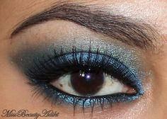 Urban Decay Junkie, Chaos and Black Out eyeshadows (Vice Palette)