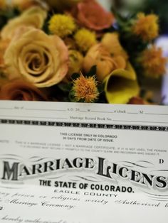 Wondering what documents are required for remarriage? Read on to learn what you need as a divorcée or widow before heading to the county clerk Marriage Records, State Of Colorado, Recorded Books, Wedding Planning, How To Plan, Planning A Wedding