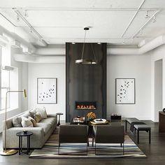 Designed by @cromadesign #scandinavianhomes #homedeco #decor #interior #interiör #interiordesign #eames #designclassic #ikea #boconcept #svartochvitt #betong #betongbord #marmor #mässing #marble #brass #stockholm #sweden #interiör #inredning #heminteriör #hay #design #blackandwhite #furniture