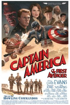Captain America The First Avenger by Paolo Rivera...