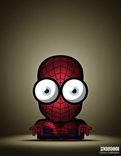 Big Eyed Superheroes Vol. 2 | marenkramer