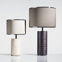 Take a look at this unique table lamp that will elevate your home decor | www.delightfull.eu #uniquelamps #homedecor #interiordesign #lightingdesign #tablelampsforbedroom #tablelamps #homeinteriordesigntrends Table Lamps For Bedroom, White Table Lamp, Bedside Table Lamps, Lamp Inspiration, Unique Lamps, Chandelier Lighting, Chandeliers, Custom Lighting, Lamp Design