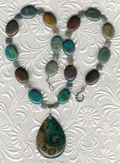 The Starry Night  Ghost's Eye Jasper Rainbow by ChicStatements
