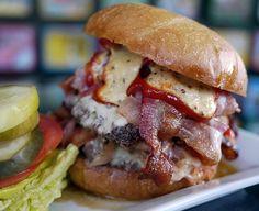Amazing Bacon Double Cheeseburger