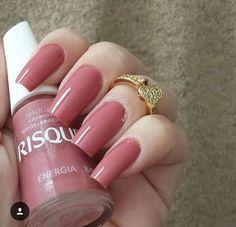 54 Trendy Ideas For Nails Colors Mauve Colour Nails Polish, Toe Nails, Coffin Nails, Trendy Nail Art, Stylish Nails, Beautiful Nail Art, Gorgeous Nails, Thanksgiving Nails, Nagel Gel