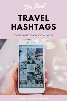 Theres no better way to get your social media posts noticed than by using good hashtags. If you're looking for extra love on your travel posts, check out this extensive list of awesome travel hashtags. Facebook Engagement Posts, Social Media Engagement, Travel Agent Jobs, Travel Agency, Instagram Feed, Instagram Travel, Best Travel Hashtags, Travel Logo, Usa Travel