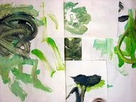 Limited shades of color: Easel Activities #1 « Open-Ended Art For Young Children
