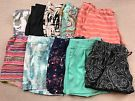 Lot of 10 Womens Shorts Size L / XL Old Navy, Mossimo, No Boundries, Camo, Blk on eBay for $24.99