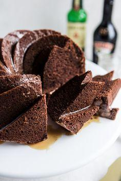 Baileys Chocolate Bundt Cake /