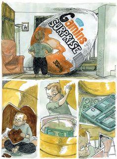 Comics by Boulet - Kinder Surprise!