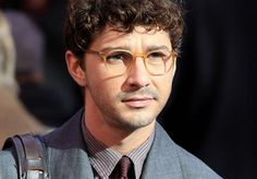 Shia LaBeouf's round glasses frames: Yay or Nay?  - Lookmatic's trendy, fully-customizable and sensibly priced eyewear lets you look your best and inspires you to do more good. Now that's #LookmaticGOOD