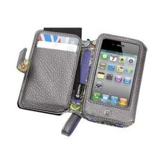 Griffin Technology Elan Passport Wallet for iPhone 4 with Lanyard - Platinum 167e26bd5d