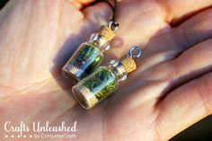 To make your own DIY terrarium necklace, check out this tutorial. | 17 Stunning Pieces Of Jewelry Made From Living Plants