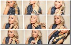 Trenza en nudo, encuentra más opciones en peinados con trenzas aquí http://www.1001consejos.com/peinados-con-diferentes-trenzas/