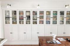 23 Ingenious IKEA BILLY Bookcase Hacks: BORGSJO Hack Using BILLY