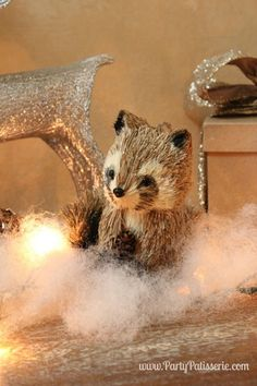 Holiday Racoon #ontheblog