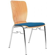 Wing II Padded Bistro Chair (Pack Of 4)  www.officefurnitureonline.co.uk