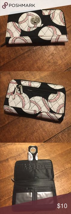 Ladies wallet Cute baseball wallet with lots of storage for cash cards and your other essentials Bags Wallets