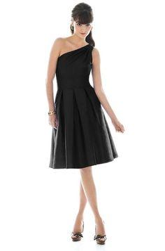 Alfred Sung D458 Bridesmaid Dress | Weddington Way - loving this very classy