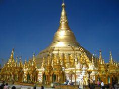 Golden Pagoda (Shwedagon Pagoda) in Myanmar