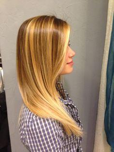 Degradè CDC - blonde hair