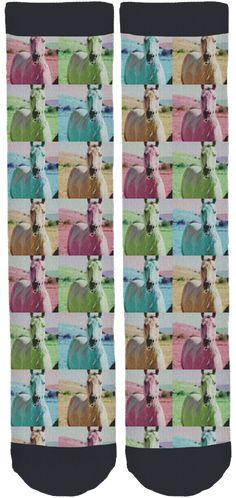 Limited Edition Horses Healing Hearts Grady Crew Socks