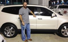 VINCENT's new 2015 CHEVROLET TRAVERSE! Congratulations and best wishes from Orr Chevrolet and WESTON FROST.