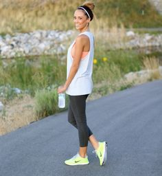 Loose Tank + Fitted Leggings. Albion Fit.