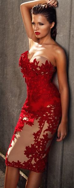 Gallani Sexy Glam Dress For Date Nite