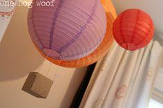 One Dog Woof: Hot Air Balloon Lantern