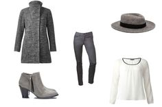 outfit in grey