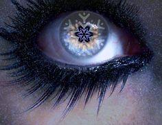 Beautiful eye! #pretty #eye #snowflake #optometry