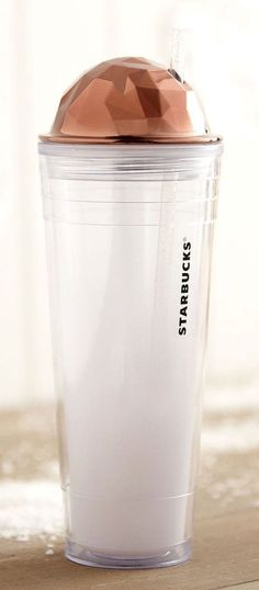 --FOLLOW ME @youbuyitnow on IG Starbucks Cup Clear Travel Cold Smoothie Blender Hot Warm Straw Lid Tea Coffee #Starbucks