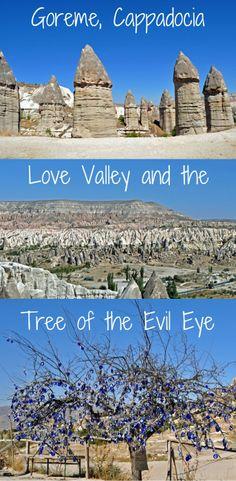 A hike through Love Valley, Goreme, Cappadocia