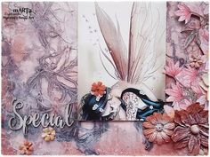 Mixed Media Layout Tutorial 'Special' for 49andMarket - YouTube