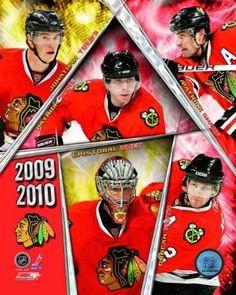 2009-10 Chicago Blackhawks Team Composite Photo Print (20 x 24)