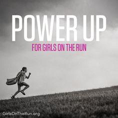 Power up for Girls on the Run. #PowerUpGOTR @gotrint @katetparker