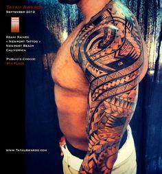 Maui Tattoo Artist now at Pacific Rootz Tattoo in Kihei Maui Hawaii