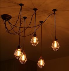 Cluster Pendant Light