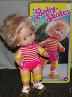 Baby Skates. #80s #childhoodmemories #80stoys