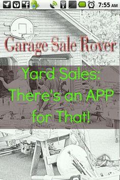 App for yard sales.